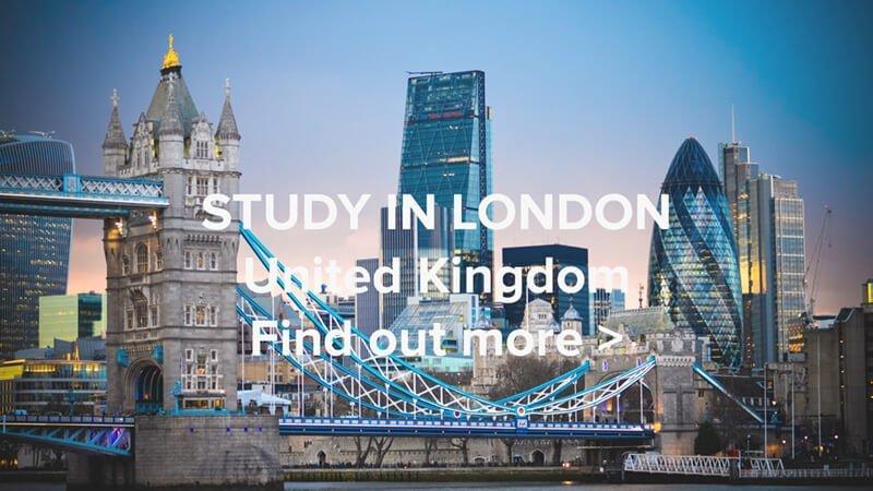 Study In London Web
