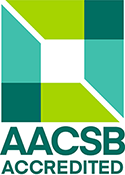 Logo AACSB (Association to Advance Collegiate Schools of Business)
