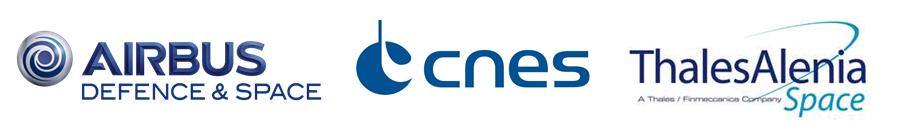 Logos Airbus Defence & Space, CNES, Thales Alenia Space