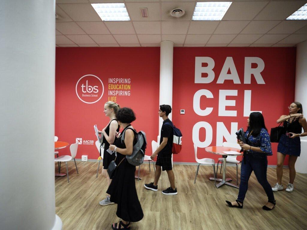 TBS Business School Barcelona campus